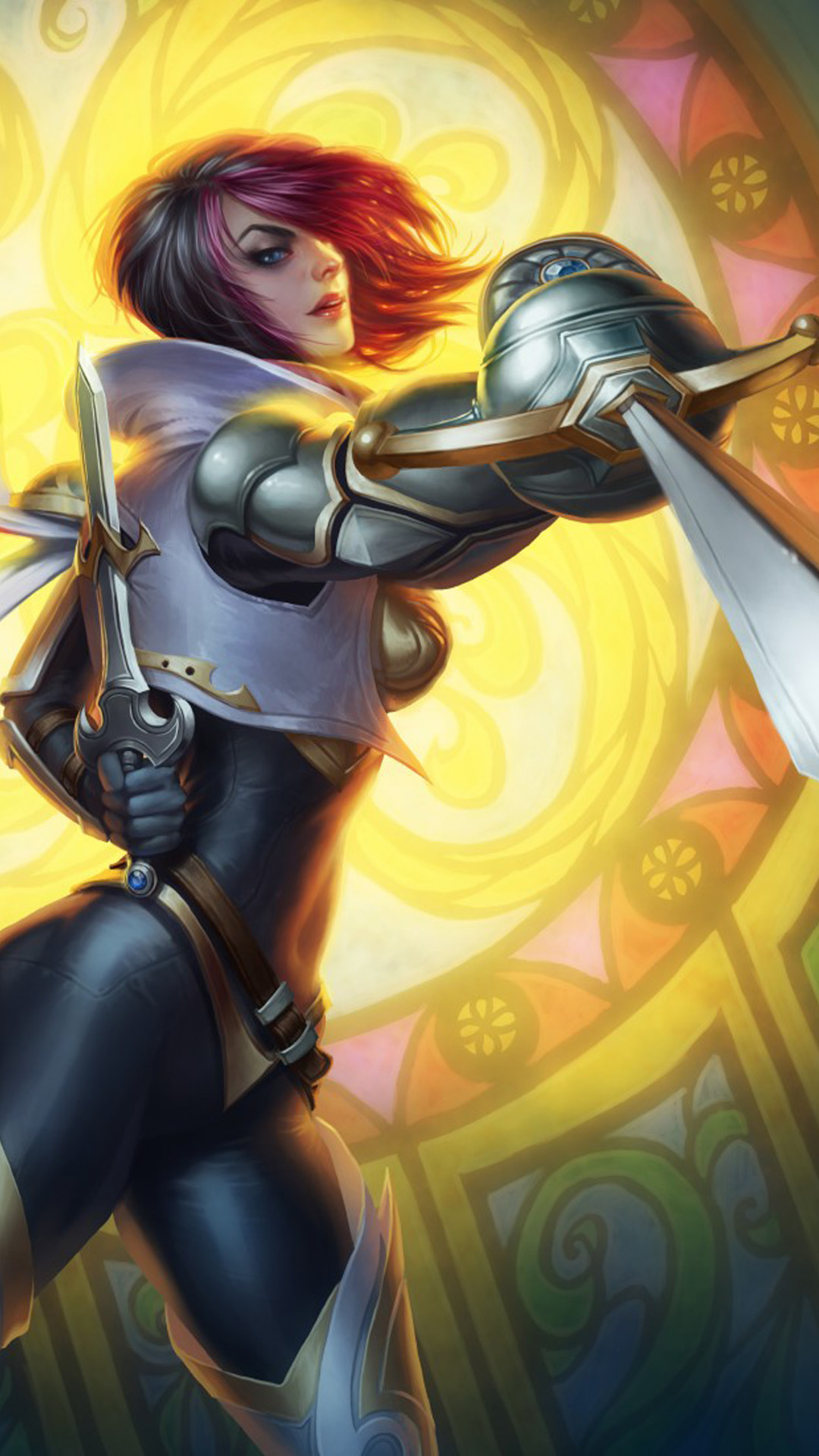 Fiora League of Legends New Free 4K Ultra HD Mobile Wallpaper