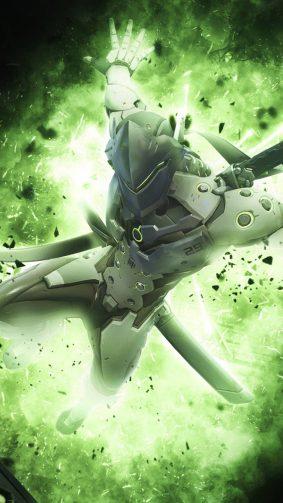 Genji Overwatch HD Mobile Wallpaper
