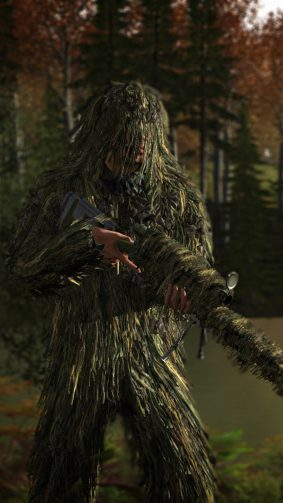 Ghillie Suit PlayerUnknown's Battlegrounds (PUBG) HD Mobile Wallpaper