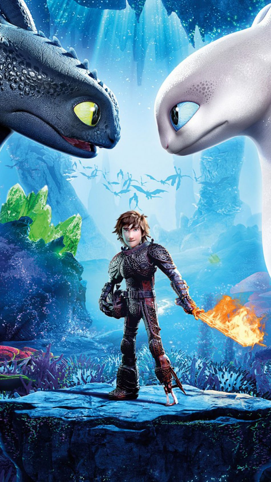 How To Train Your Dragon - The Hidden World HD Mobile Wallpaper