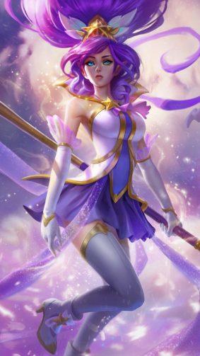 Janna League of Legends New HD Mobile Wallpaper