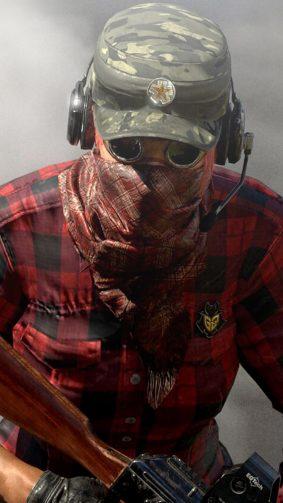 Masked Player In Miramar Desert PlayerUnknown's Battlegrounds (PUBG) HD Mobile Wallpaper