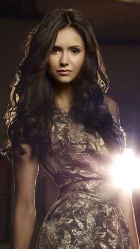 Nina Dobrev In The Vampire Diaries HD Mobile Wallpaper