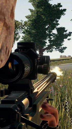 Sniper PlayerUnknown's Battlegrounds (PUBG) HD Mobile Wallpaper