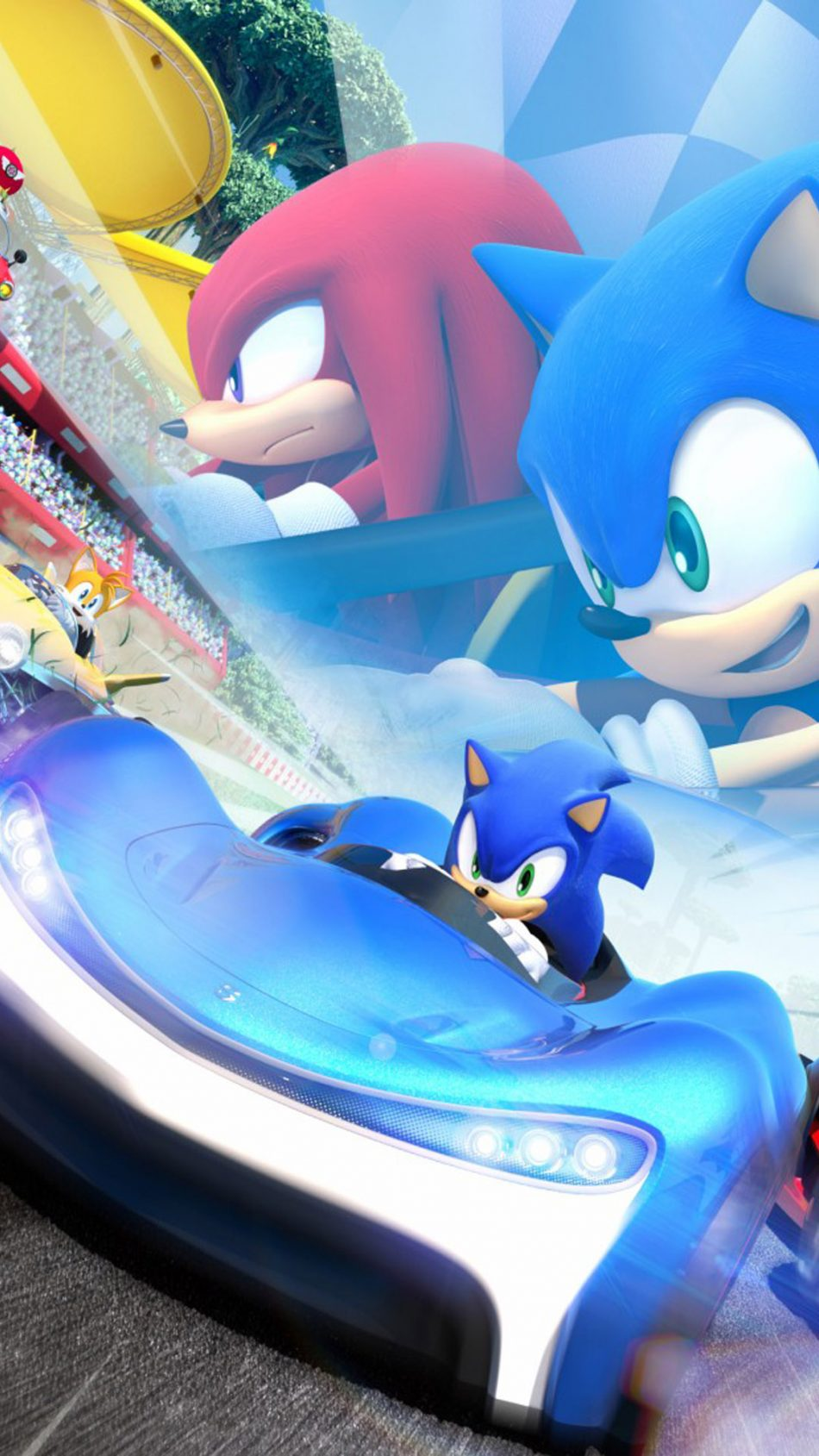 Team Sonic Racing HD Mobile Wallpaper