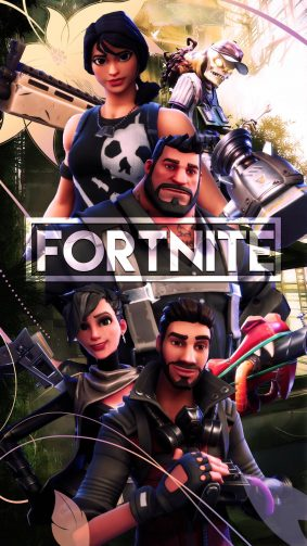 Team Squad Fortnite Battle Royale HD Mobile Wallpaper
