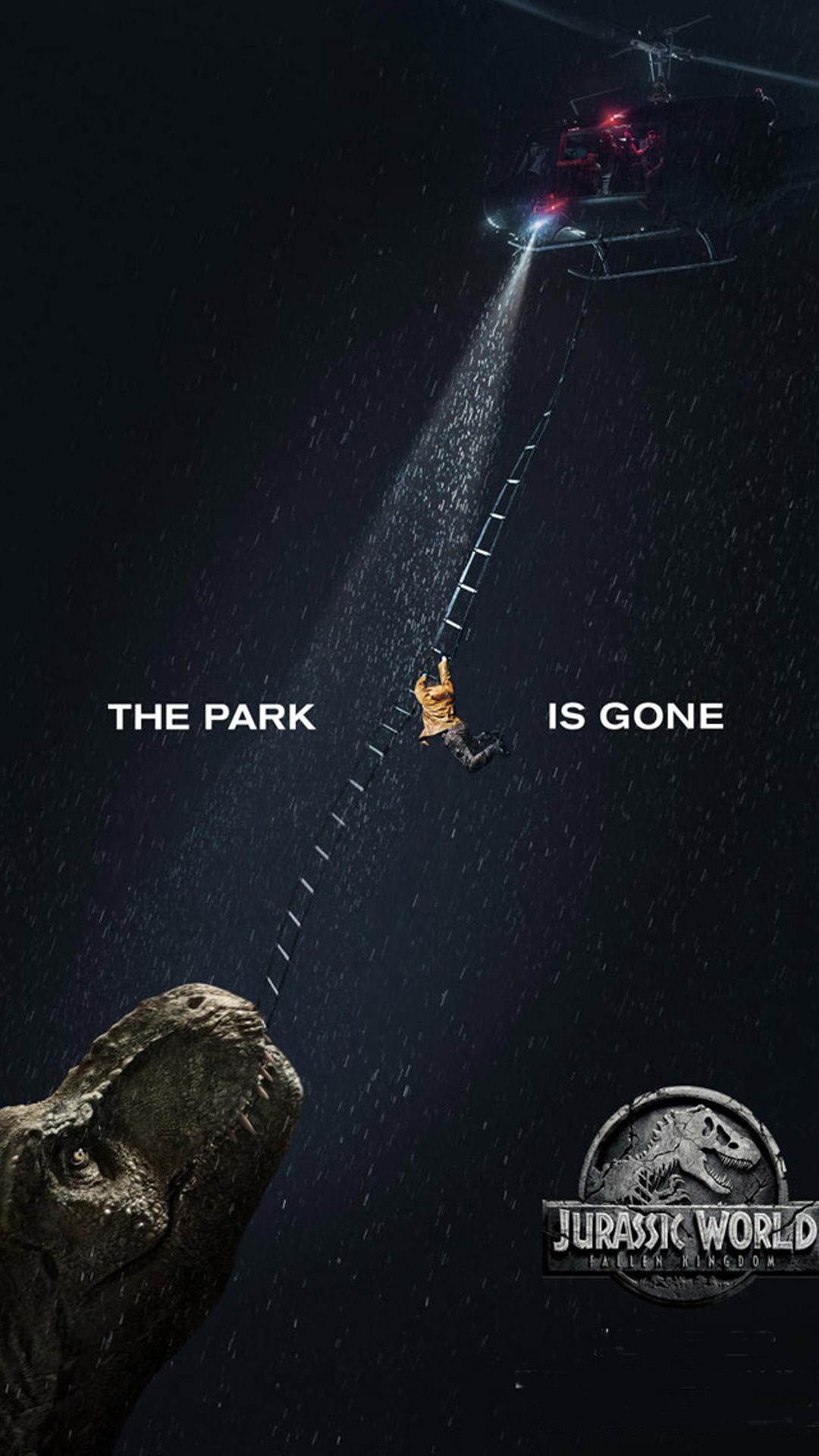 Download Wallpaper Logo Jurassic World - The-Park-Is-Gone-Jurassic-World-Fallen-Kingdom-HD-Mobile-Wallpaper  Collection_77641.jpg