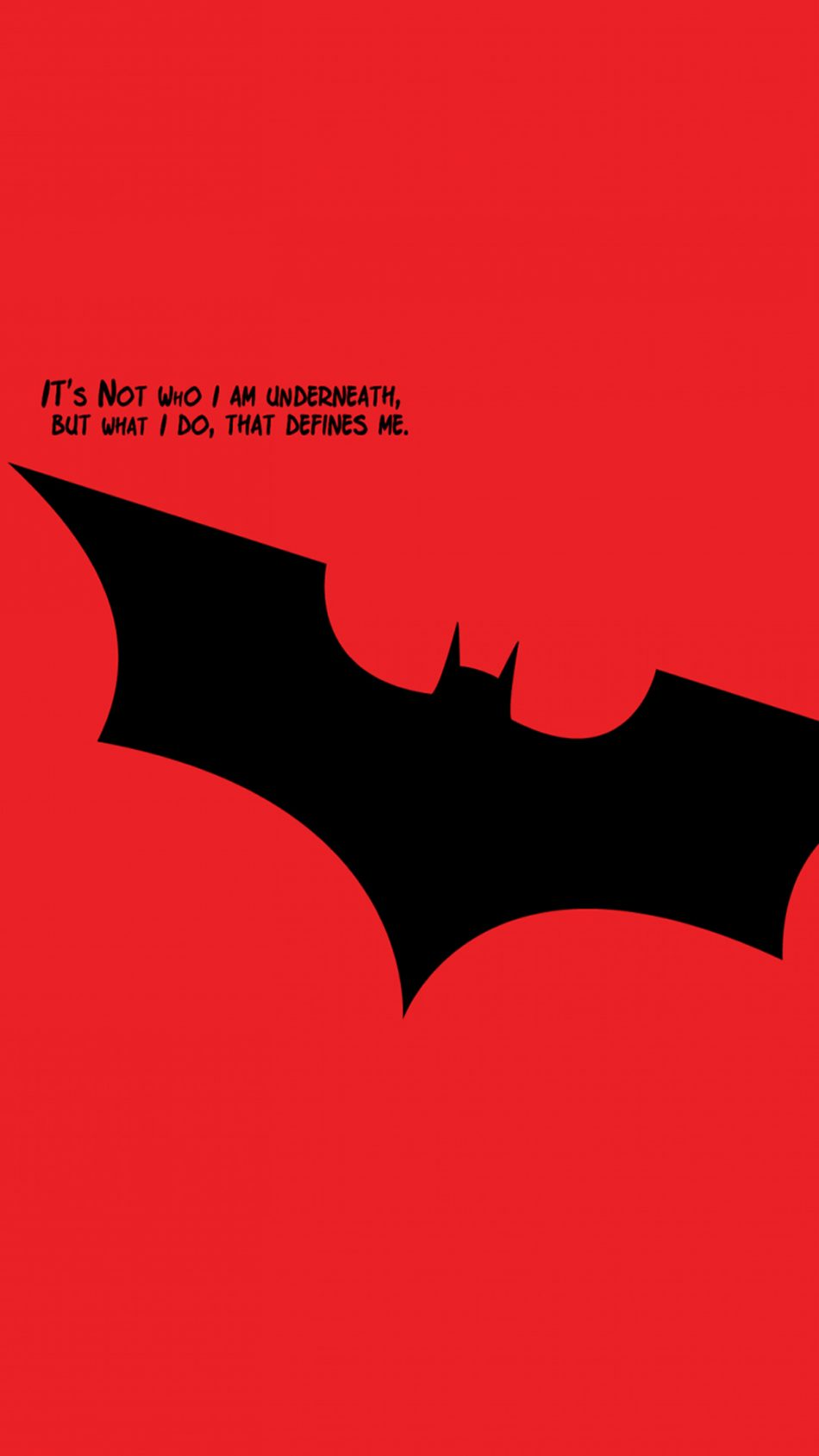 Download Batman Quotes Minimal Red Free Pure 4k Ultra Hd Mobile