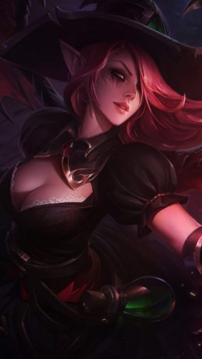 Morgana League of Legends HD Mobile Wallpaper