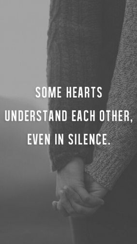 Some Hearts Understand Each Other Quote HD Mobile Wallpaper