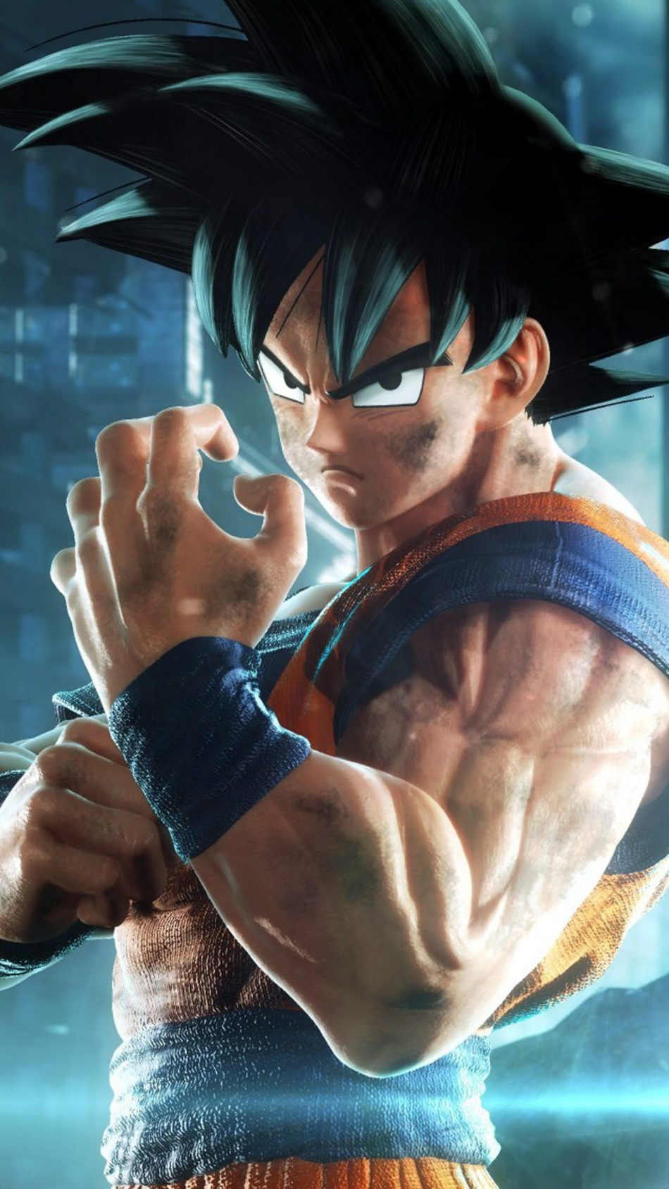 Download Goku Jump Force Free Pure 4k Ultra Hd Mobile Wallpaper