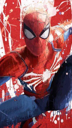 Spider Man Fan Artwork HD Mobile Wallpaper
