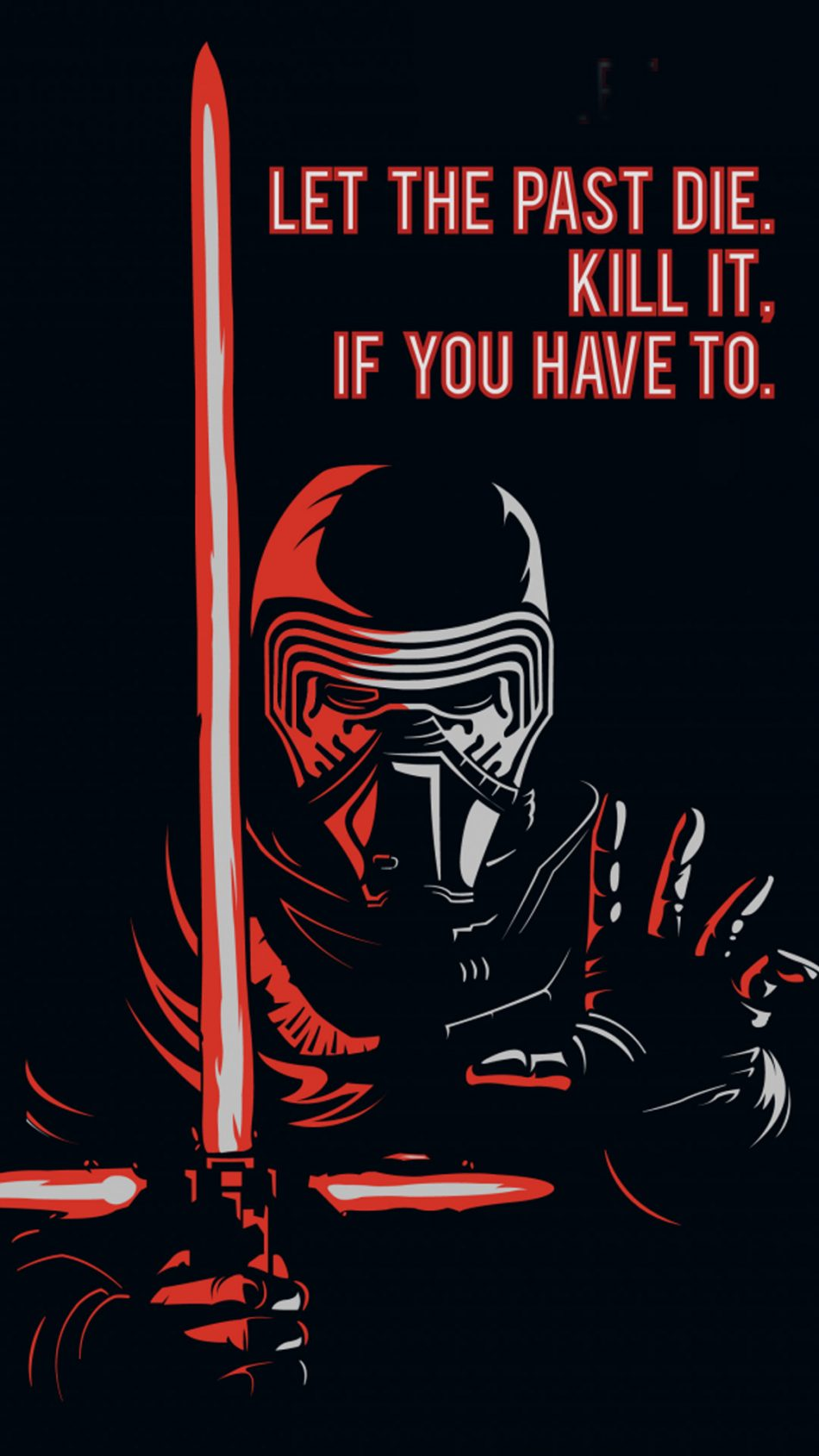 Star Wars Quote HD Mobile Wallpaper