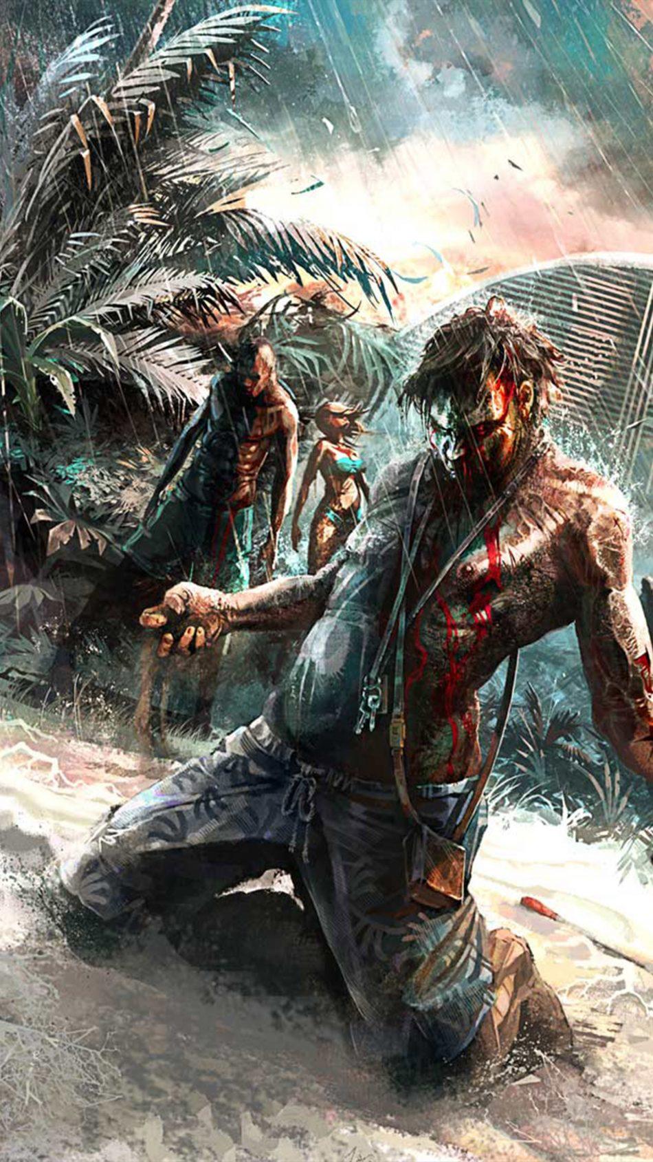 Dead Island Survival Game 4k Ultra Hd Mobile Wallpaper