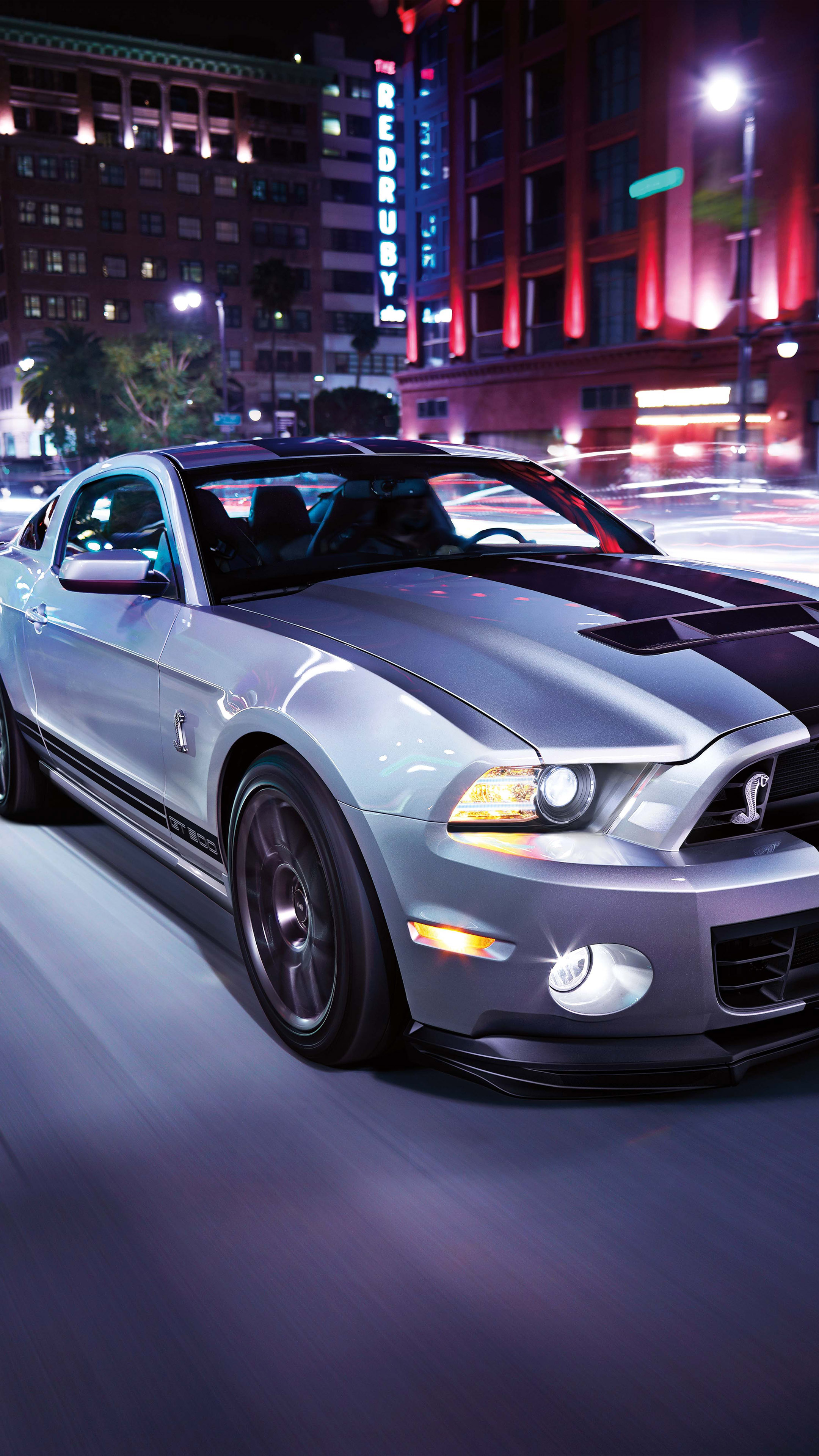 Download Ford Mustang Night Street Free Pure 4k Ultra Hd Mobile