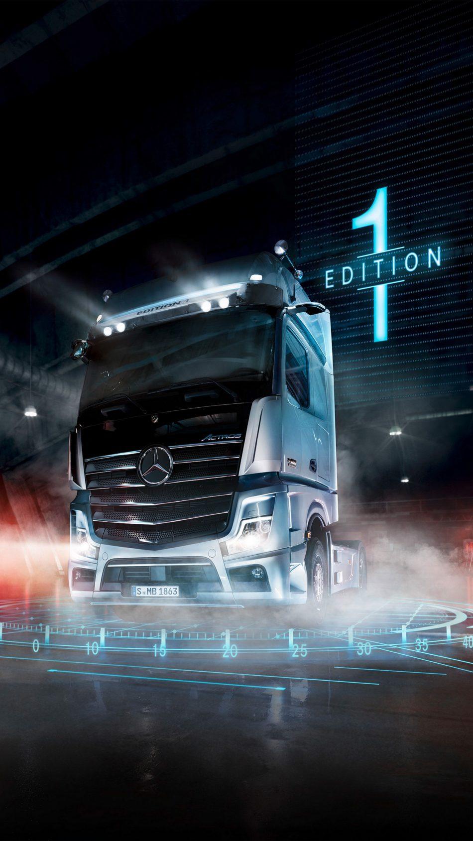 Mercedes Benz Actros 4K Ultra HD Mobile Wallpaper