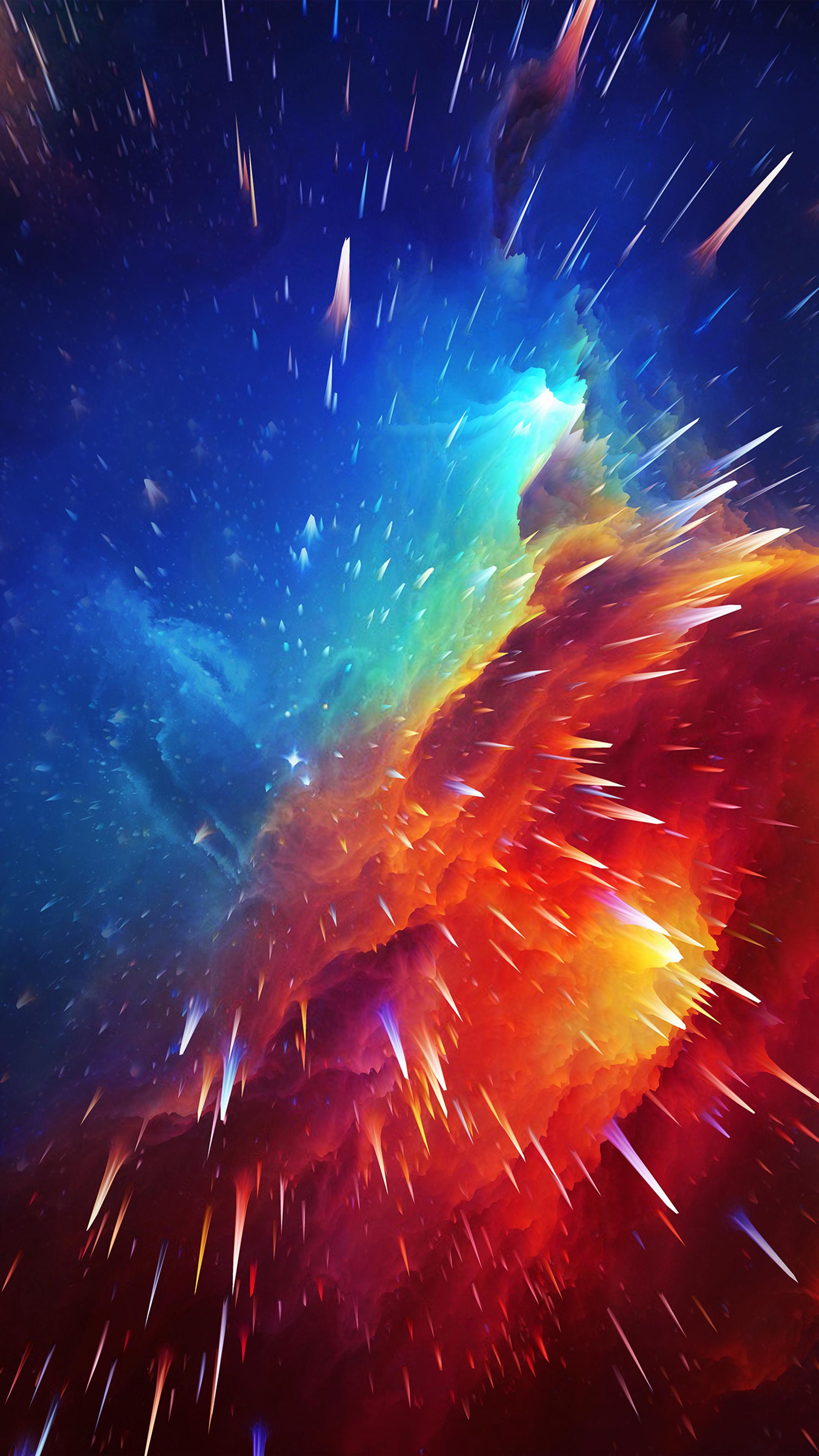 Nebula Waves 4K & Ultra HD Mobile Wallpaper - Download ...