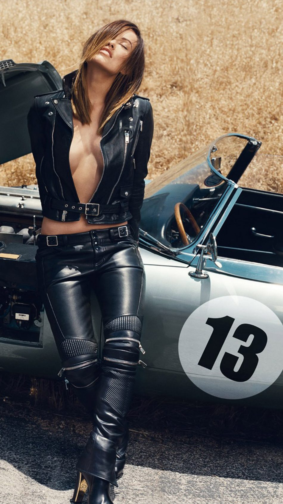 Olivia Wilde Hot Car Photoshoot 4K Ultra HD Mobile Wallpaper