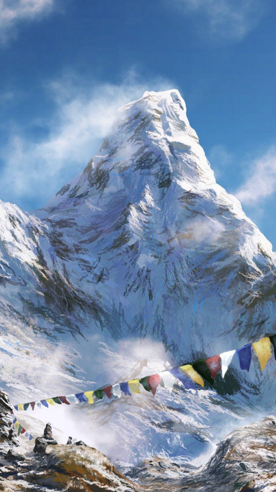 Download prayer flags himalaya mountain free pure 4k ultra - Himalaya pictures wallpaper ...