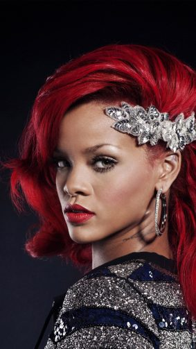 Rihanna Blonde Red Hair 4K & Ultra HD Mobile Wallpaper