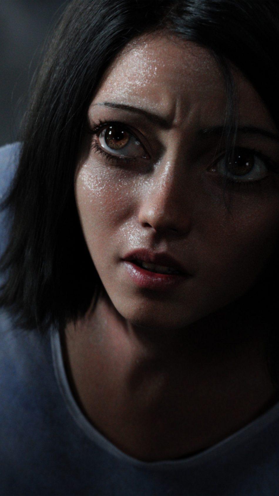 Rosa Salazar In Alita Battle Angel 4K Ultra HD Mobile Wallpaper
