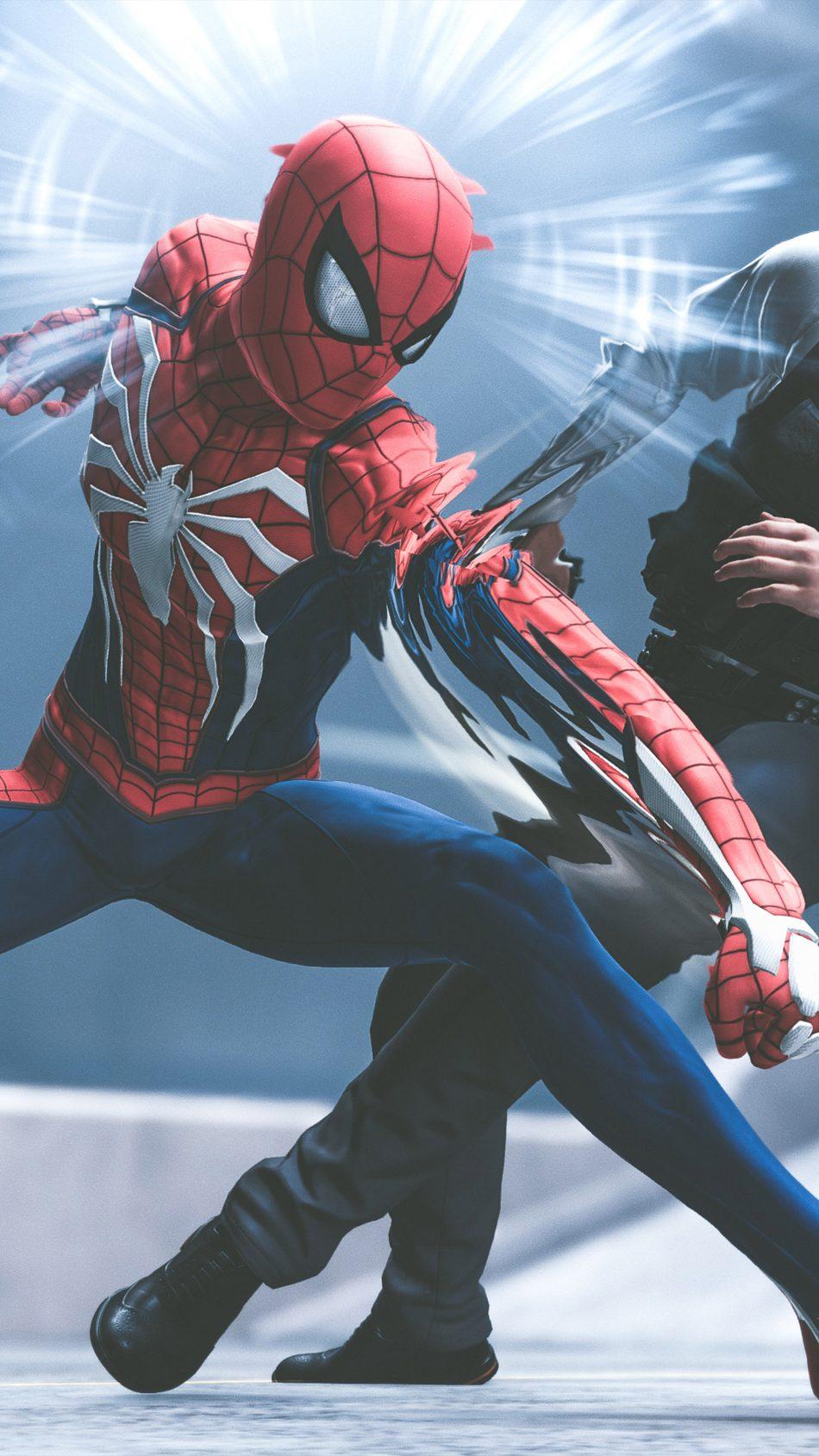 Spider Man Playstation 4 Video Game 4k Ultra Hd Mobile Wallpaper