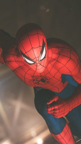 Spider Man Running Playstation 4 Game 4K Ultra HD Mobile Wallpaper