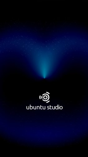 Ubuntu Studio Dark Cosmic Black 4K Ultra HD Mobile Wallpaper