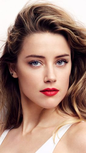 Beautiful Actress Amber Heard 4K Ultra HD Mobile Wallpaper
