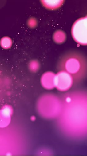Bokeh Purple Pink Lights 4K Ultra HD Mobile Wallpaper