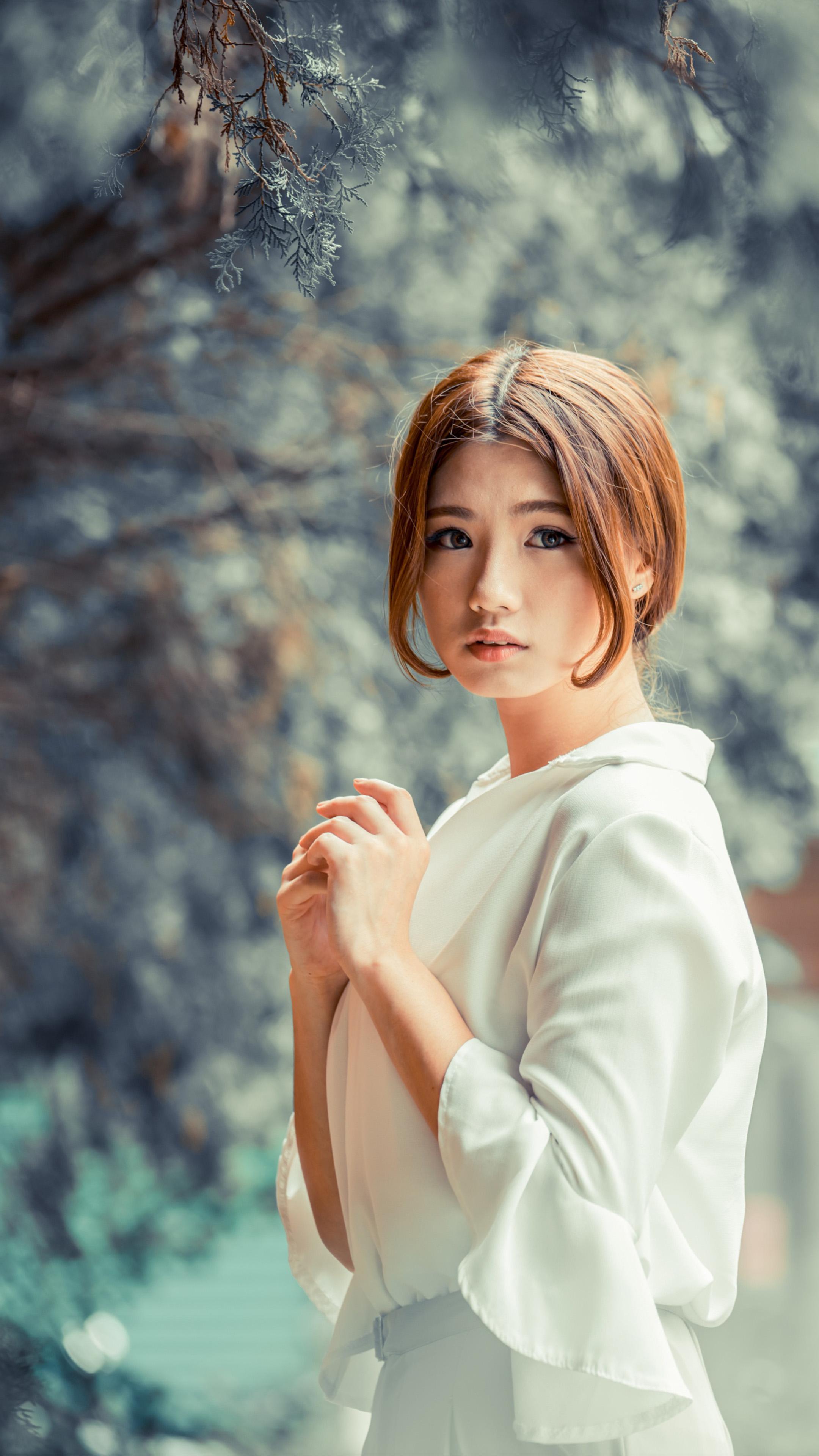 Download cute asian girl winter photoshoot free pure 4k - Asian girl 4k ...