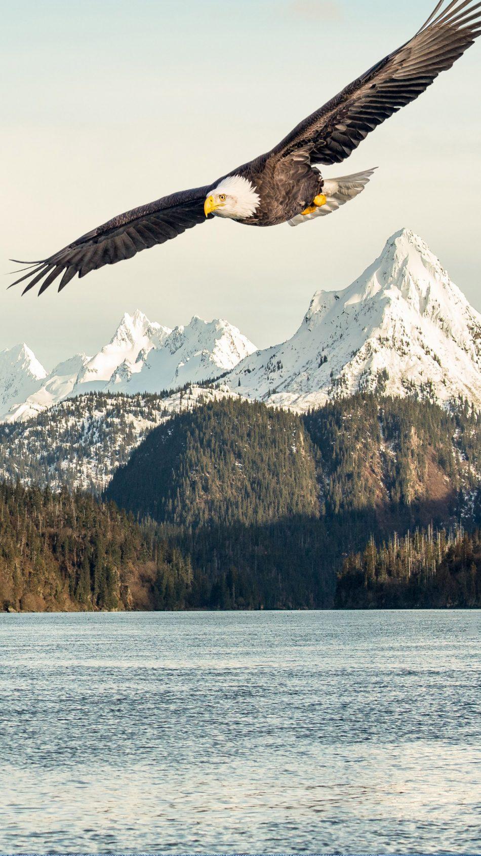 Eagle Mountains Lake 4K Ultra HD Mobile Wallpaper