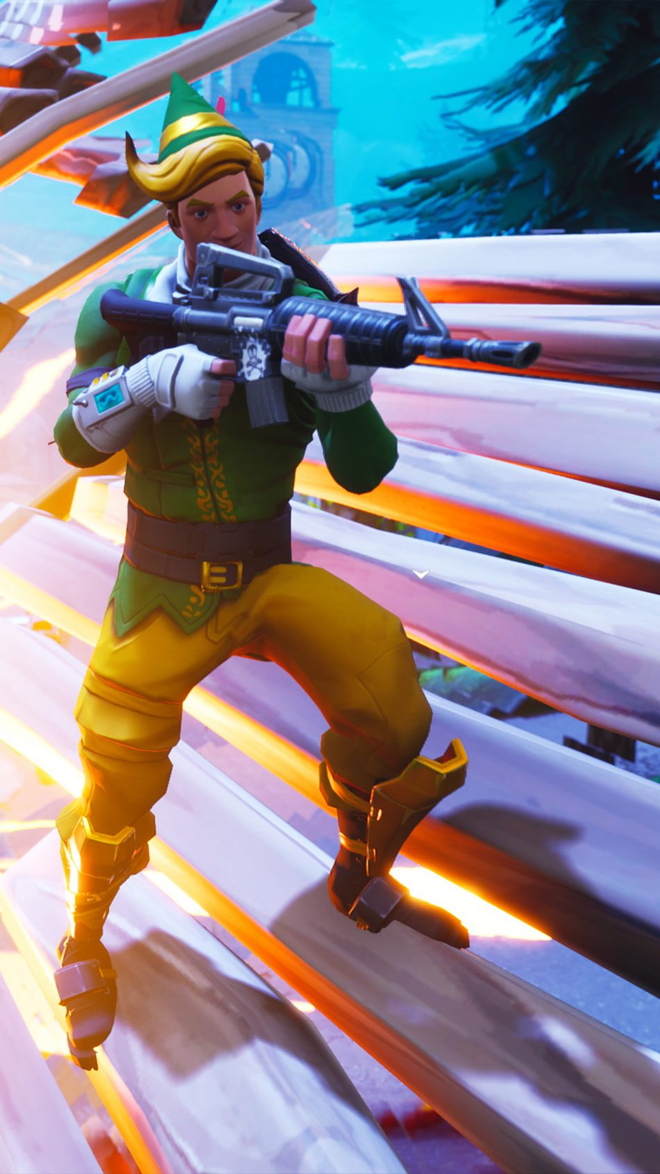 Fortnite Battle Royale Season 6 4k Ultra Hd Mobile Wallpaper