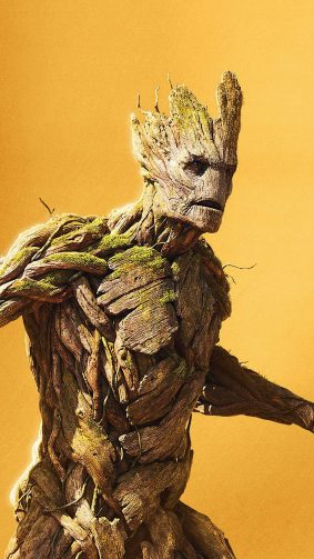Groot Avengers Infinity War 4K Ultra HD Mobile Wallpaper