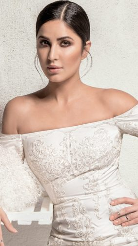Katrina Kaif In White Beautiful Dress 4K Ultra HD Mobile Wallpaper