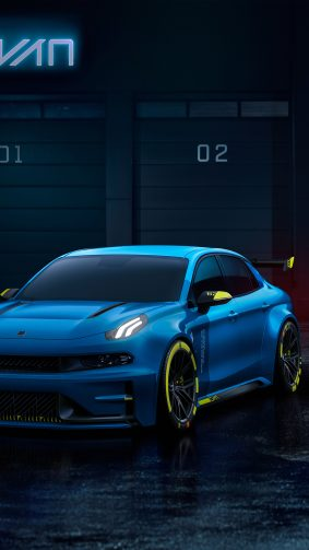 Lynk & Co 03 TCR Road 2019 4K Ultra HD Mobile Wallpaper