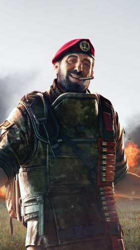Maestro Tom Clancy's Rainbow Six Siege 4K Ultra HD Mobile Wallpaper