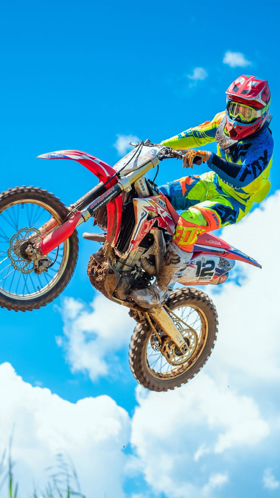 Motorcycle Motocross Sports 4K Ultra HD Mobile Wallpaper