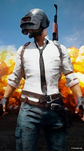 PUBG Prisma Artwork PlayerUnknown's Battlegrounds 4K Ultra HD Mobile Wallpaper