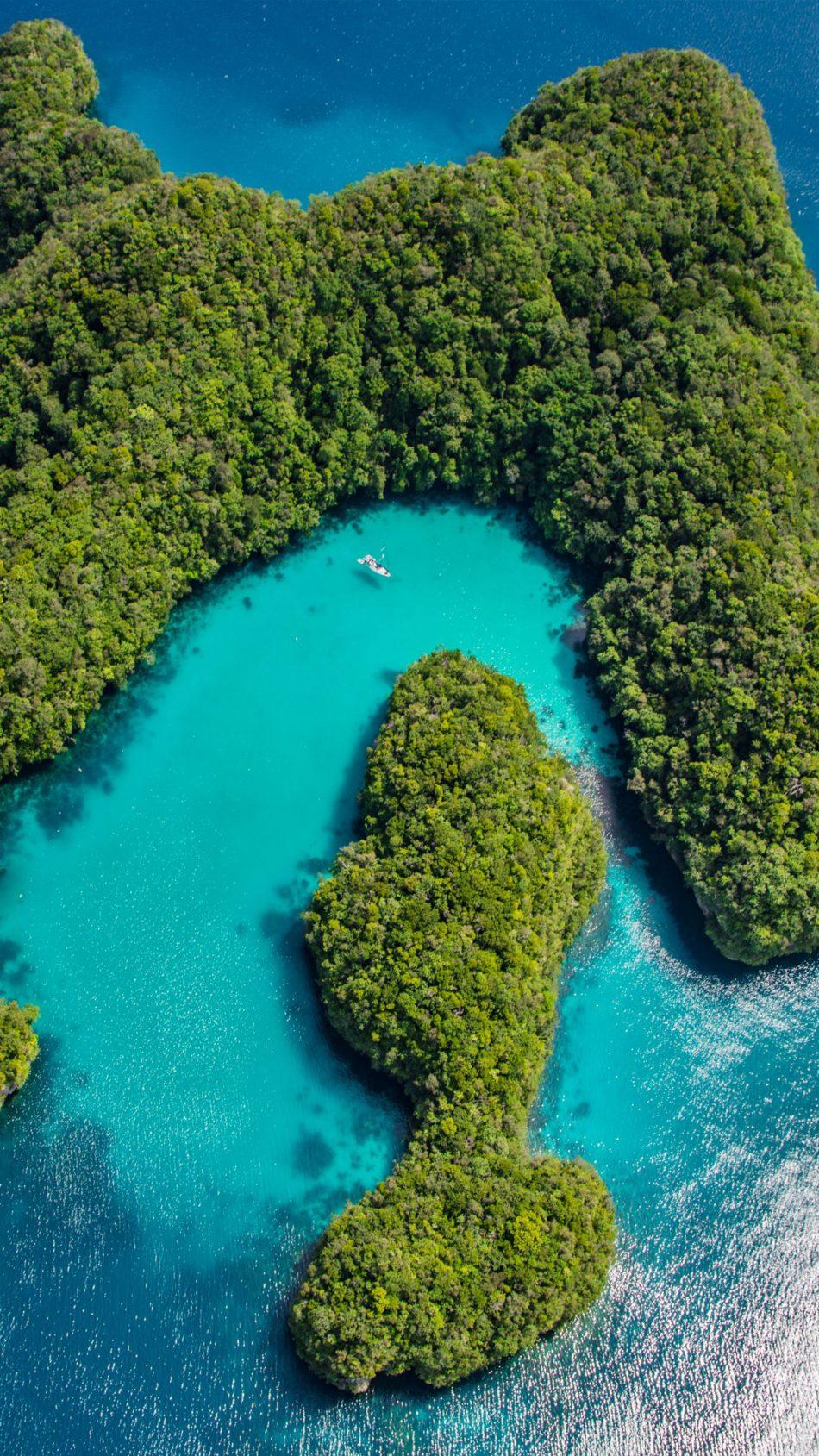 Palau Islands Philippines Ocean 4K Ultra HD Mobile Wallpaper