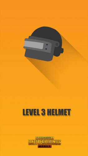 Pubg Mobile Helmet Level 3 Minimal 4K Ultra HD Mobile Wallpaper