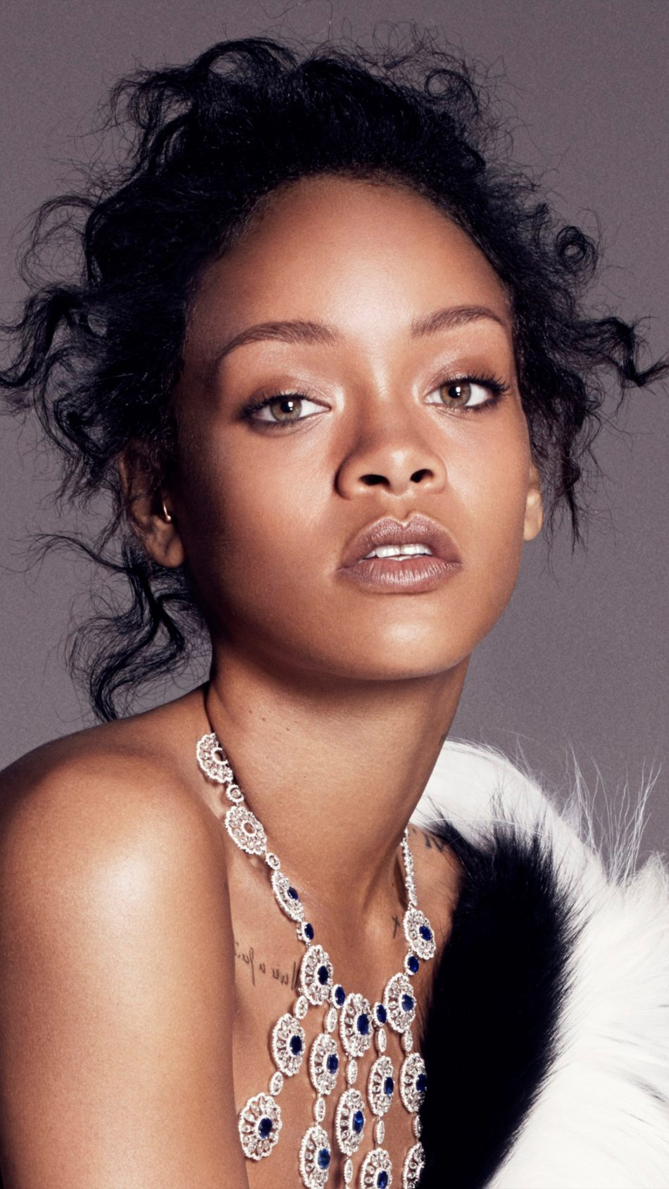 Singer Rihanna 2018 Photoshoot 4K Ultra HD Mobile Wallpaper