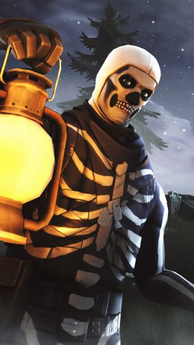 Skull Trooper Fortnite Season 6 4K Ultra HD Mobile Wallpaper