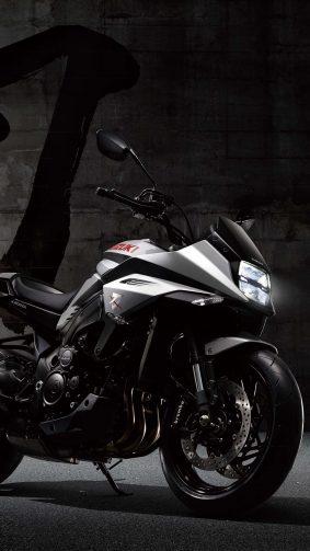 Suzuki Katana Sports Bike 4K Ultra HD Mobile Wallpaper