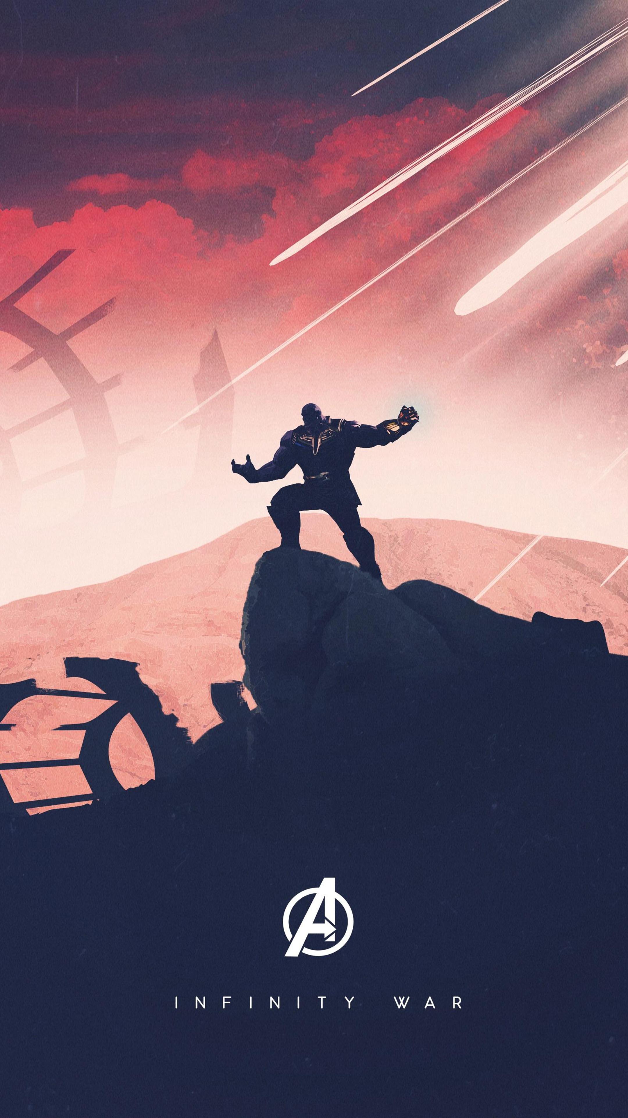 Thanos Avengers Infinity War Artwork Free 4K Ultra HD ...