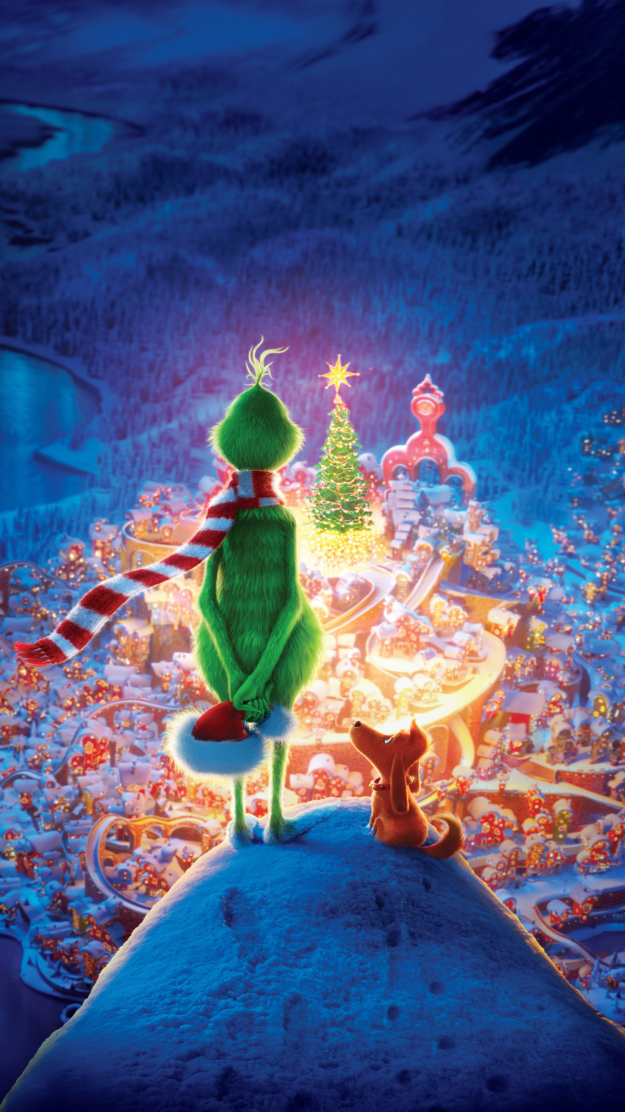 The Grinch Animation 2018 Free 4K Ultra HD Mobile Wallpaper