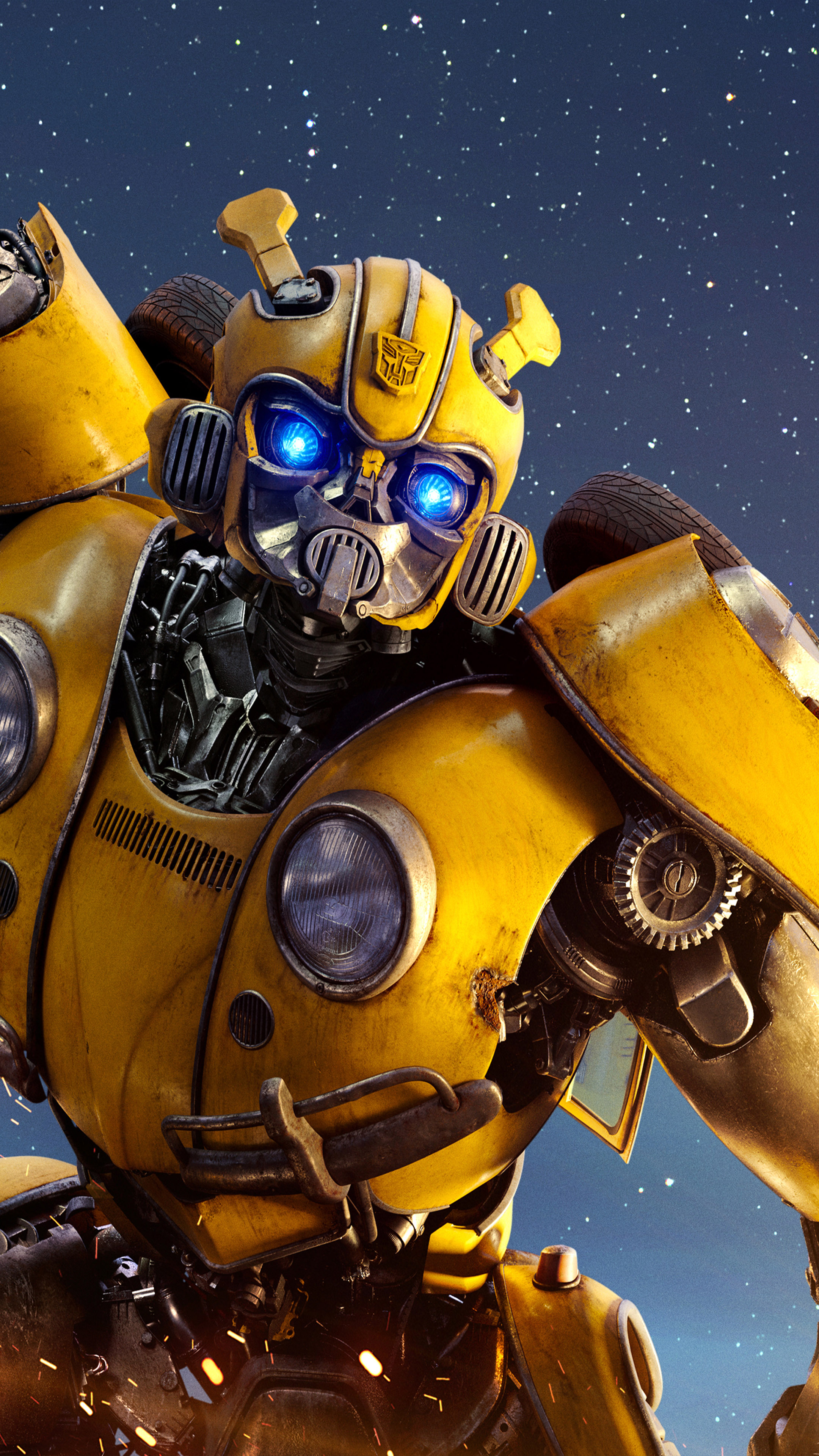 Download Bumblebee 2018 Free Pure 4K Ultra HD Mobile Wallpaper