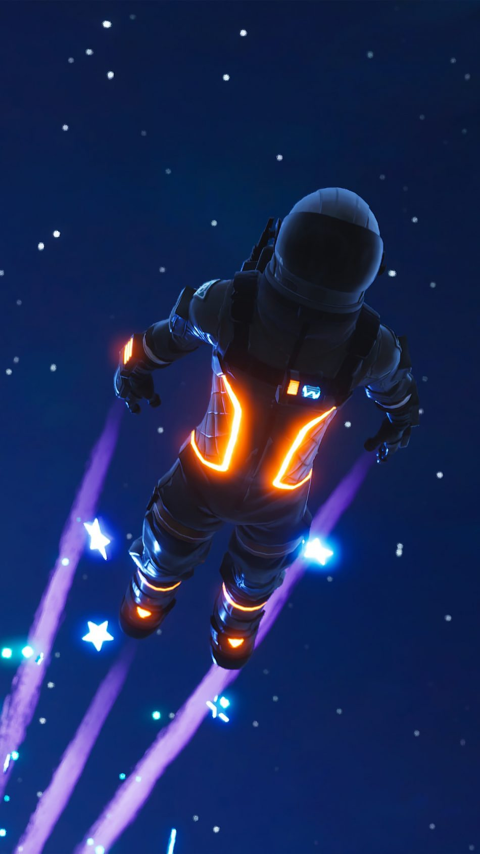 Dark Voyager Fortnite Battle Royale 4K Ultra HD Mobile Wallpaper