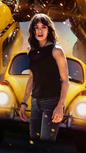 Hailee Steinfeld as Charlie Watson In Bumblebee 4K Ultra HD Mobile Wallpaper