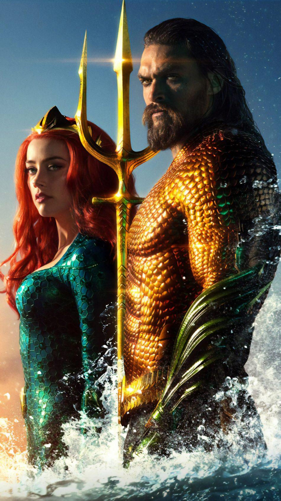 Download Jason Momoa Amber Heard In Aquaman Free Pure 4k Ultra Hd